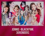 +Jennie - BLACKPINK Pack Renders by PatyOOR99