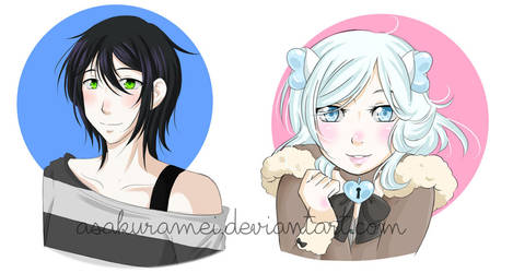 [comm] bust commissions batch 2 by AsakuraMei