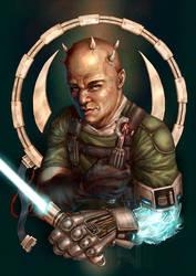 Electrofist of Doom by DarthFar