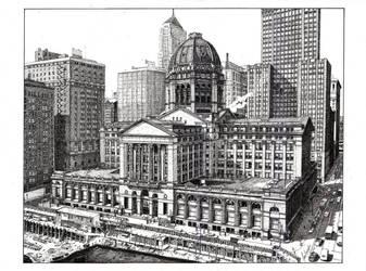 Chicago Federal Building Mark 2.0 by DarthFar