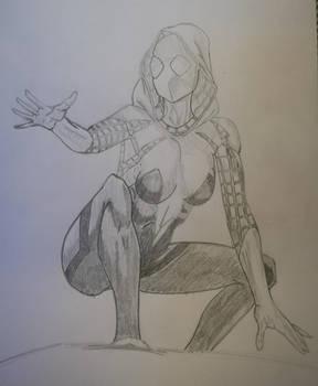 Spidey-Gwen by Evangelion85