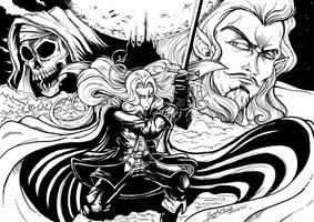 Castlevania 25 Anniversary by JFRteam