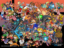 Super Smash Bros. 4 by JFRteam