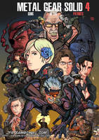 Metal Gear Solid 4 by JFRteam