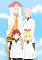 TDNBH | Uzumaki family by iwaki-0