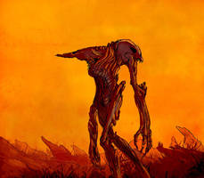 Desert Goliath by Xiperius