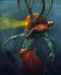 Snorkleman by Xiperius