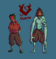 The Demon by Xiperius