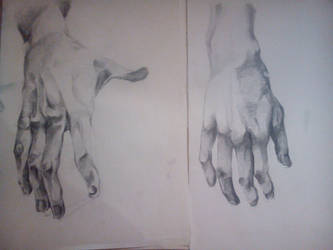 hand sketches by AndrewDuck3