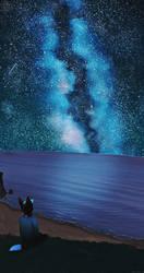 Starry Seas by DarkMasterOfDragons