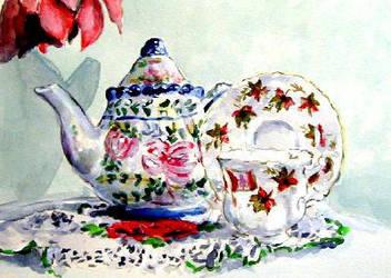 Little Tea Pot. by winduphearts
