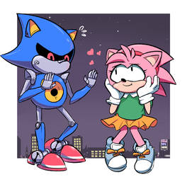 Sonic CD by NewtypeHero