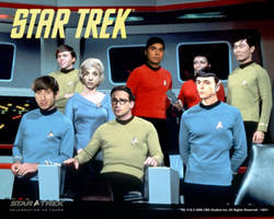 Big Bang Theory: STAR TREK style by Marce07