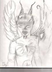 Deamon by darkwingsaloft