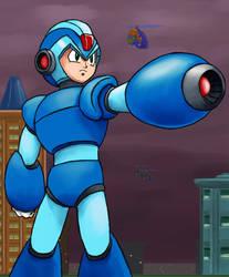 Mega Man X by Telgin