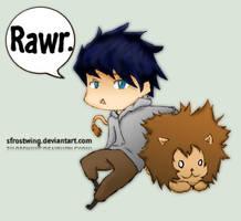 Rawr. by SFrostWing