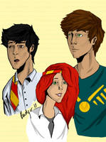 The Potter kids. by Badger-15