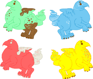 50 Point easter peep griffin adopts by Sharkledog