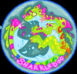 Paintsplotch sharkledog by Sharkledog