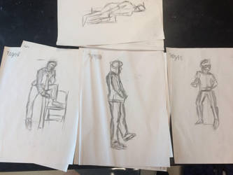Gesture Drawing Collection 1 by JazzytheDjinn