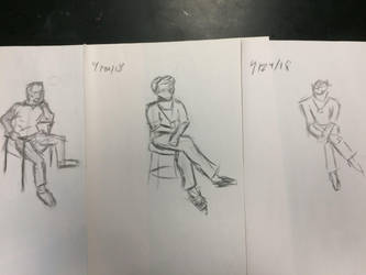 Gesture Drawing Collection 2 by JazzytheDjinn