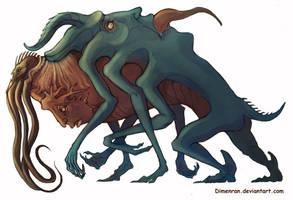 Strange monster COLOR by Dimenran
