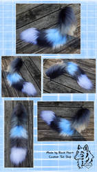30 inch Yarn Tail Commission by Black-Heart-Always