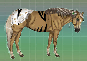 Timber Horse Adoptable - TAKEN by Black-Heart-Always