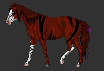 Adoptable Timber Horse - TAKEN by Black-Heart-Always
