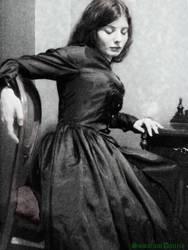 Lizzie Siddal I by SomniumDantis