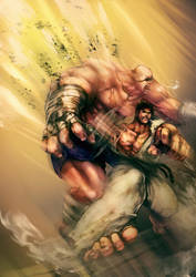 Street fighter by khanshin