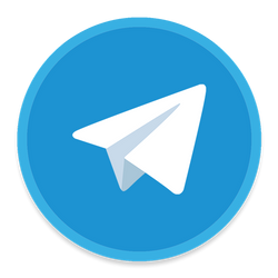 Telegram Icon by mrKarianov