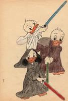 Huey, Dewey and Louie Star Wars by Franek33