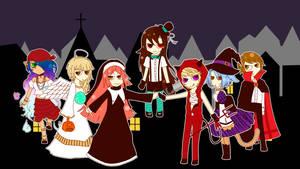 UTAU | Dream Meltic Halloween by SpanishPandaHero