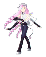 UTAU | Haruka Eights concept art + VB by SpanishPandaHero