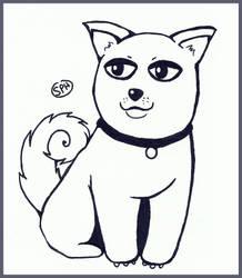 Dog | Inktober Day 6 by SpanishPandaHero