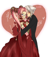 Late Valentines : HaseoxPi by sa0ri-chan