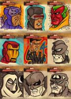 Marvel Masterpieces II Set 2 by FrankRapoza
