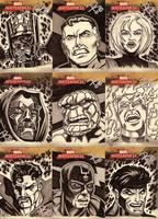Marvel Masterpieces II Set 5 by FrankRapoza