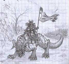 mem beast rider by kardiyak