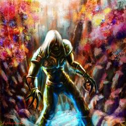 elder knight colorfull by kardiyak