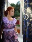 Purple summer dress 4 by Philosopher-Vinni