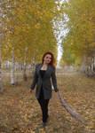 Autumn walk 4 by Philosopher-Vinni