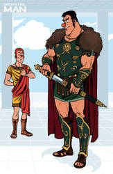 L'Homme_The Romans by ariel025