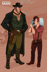 L'Homme_The Gunfighters by ariel025