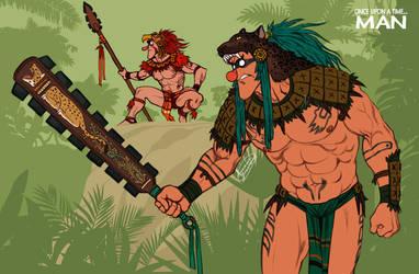 L'Homme_The Aztecs by ariel025