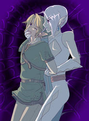 Link and Ghirahim by AngelofHapiness