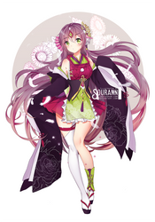 [CLOSED TY!!] Floral Crush!! Adoptable by Sourann