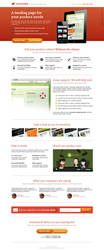 Landing Page template by NilsHuber