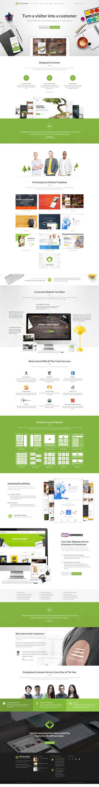 Off the Shelf - The Online Marketing Theme by NilsHuber